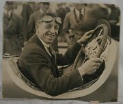 1915-1919 Eddie Oand039donnell Indy 500 Racer Oversized Orig. Stagg Photo 14 X 17