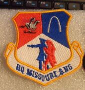 Usaf Flight Suit Patch, State Headquarters Missouri Air National Guard.color
