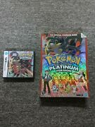 Pokemon Platinum Version Nintendo Ds Authentic With The Official Pokemon Guide