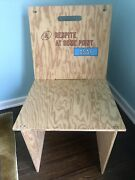 Lawrence Weiner Art Chair Limited Edition Of 100 Coa Included Ed Ruscha Wool