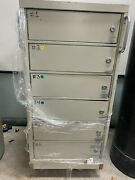 6 Drawer Safety Deposit Box With Lock And Key. Safe/vault On Wheels. Portable.