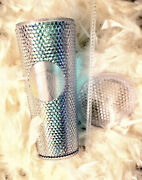 2018 Starbucks Iridescent Studded Cold Cup Tumbler
