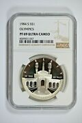 1984-s Ngc Pf69 Ultra Cameo Olympics Commemorative Silver Dollar-price Guide 40