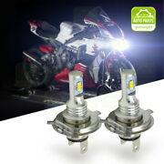 For Kawasaki Z750 Z1000 Zrx 1200 Zzr 600 Motorcycle Led Headlight Kit H4 Bulbs