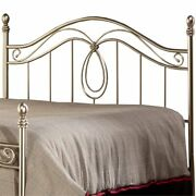 Hillsdale Milano King Metal Spindle Poster Headboard In Antique Pewter