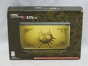 New Read New Nintendo 3ds Xl Zelda Majoraand039s Mask Edition Console System 3d Ds
