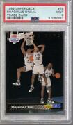 1992/93 Upper Deck Trade Card Shaquille Oand039neal Rc 1b Psa 9