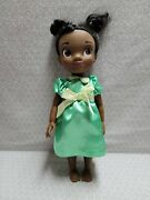 Disney Store Animators Collection Princess And The Frog Toddler Tiana Doll 16
