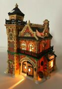 Department 56 Heritage Coll Dickens Village Ashwick Lane Hose And Ladder Boxed