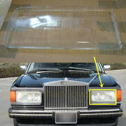 Left Side Transparent Headlight Cover With Glue For Rolls-royce Silver Spur