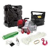 Portable Winch Gas-powered Portable Capstan Winch With Accessories