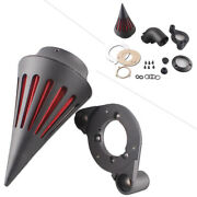 Spike Air Intake Cleaner Filter Kit For Harley Sportster Xl883 1200 1991-2006