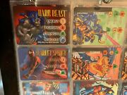 Marvel Overpower Trading Card Lot