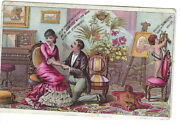 Ai-146 Domestic Sewing Machine Yes If Buy A Domestic Victorian Trade Card