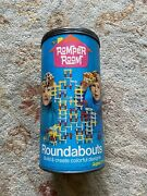 Vintage 1971 Romper Room Roundabouts Round Abouts In Tin Building Toy