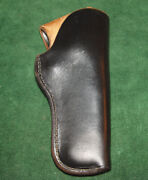 H.h. Heiser Tom Threepersons Style Holster Fits 4 Smith And Wesson M-10 Similar