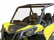 Can Am 2021+ Commander 1000 Front Windshield Vented Vents Scratch Resistant