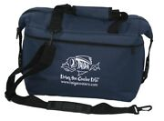 New Taiga Coolers Navy Soft Sided Cooler With Taiga Bottle Opener/keychain