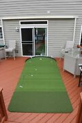 Big Moss Golf Commander V2 Series 6and039x15and039 Patio Practice Putting Chipping Green
