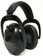 New Pro Tac Plus Gold Electronic Ear And Hearing Protection Nrr 26 Earmuff Black