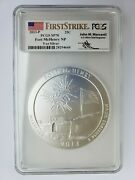 2013-p Fort Mchenry 5 Oz. Silver Atb Pcgs Sp70 Fs Mercanti 💰
