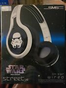 Star Wars Storm Trooper First Edition Street On-ear Wired Headphones Sms Audio