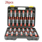 26pcs Car Wiring Connector Pin Release Extractor Crimp Terminal Removal Tool Kit