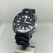Seiko Third Diver Automatic 6309-7040 Day/date Vintage Menand039s Watch 1981 Wl28718