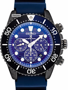 Seiko Ssc701 Solar Prospex Save The Ocean Watch 200 Meter Blue Dial Box And Papers