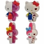 Sanrio Kaitai Fantasy Figures Hello Kitty And My Melody [collectible Toy 4 Pack]