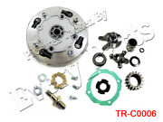 17t Teeth Clutch Assembly With Accessories For 110cc 125cc 135cc Atvs Dirt Bikes