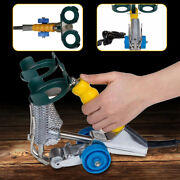 Portable Double-line Seam Stitching Machine Woodworking Sewing For Flooring 5mm