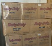 Box Of 300 Fruit Jellies Case Of Dely Gely 30 X 10 Pack = 300 Pieces