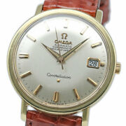 Omega Constellation Automatic 168.004 Date Vintage Menand039s 1967 Wl28835