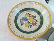 Vintage Stangl Pottery Fruit Bowl 11 1/4 3 1/4 Deep See All Pictures