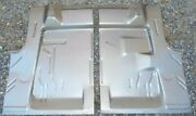 1970-74 Cuda Challenger Trunk Floor Kit Left And Right Sides Usa Pan Panel E-body