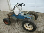 Vintage Sears Suburban Six Speed Tractor Rolling Chassis Transaxle