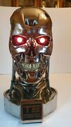 Terminator T2 T-800 Endoskull Prop Replica 11 Life Size Hollywood Collectors