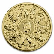 2021 Great Britain 1 Oz Gold Queenand039s Beasts Collector Coin - Sku231462
