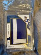 2019 Immaculate Nameplate Nobility Josh Allen Game Worn Letter L /5