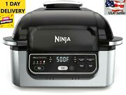 Ninja Foodi Ag301 5-in-1 Electric Countertop Grill With 4-quart Air Fryer Usa
