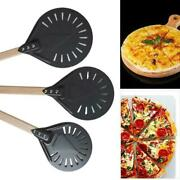 Perforated Pizza Peel 7/8/9 Pizza Turning Peel For Homemade Bread Pizza