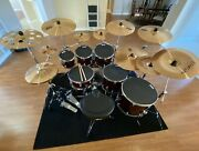 Tama 7 Pc Superstar Classic Exotic With Hardware And Cymbals