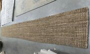 Natural 2'-6 X 20' Loose Threads Rug, Reduced Price 1172616941 Nf447a-220