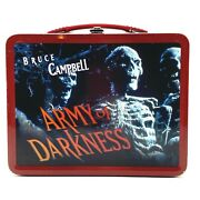 Neca Bruce Campbell Army Of Darkness Lunch Box Limited Edition Collectible 1993