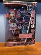 Monster High C.a. Cupid Doll First Release 2011 New In Box
