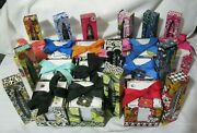 Vera Bradley Ink Pen And Note Cube Black Ink Desk To Match Purse Tote Backpack Nwt