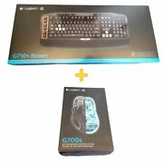 Brand New Logitech G710+ Wired Keyboard And G700s Rechargeable Gaming Mouse