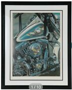 Scott Jacobs Live To Ride 118/300 Limited Edition Signed Serigraph