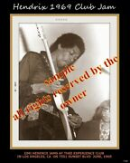 Jimi Hendrix Band Of Gypsys Fillmore East And Club Jam 1969 Le 2 - 8 X 10 Photos.